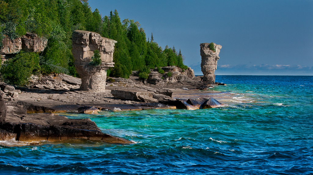 Flowerpot Island And More Tobermory Savour The Journey